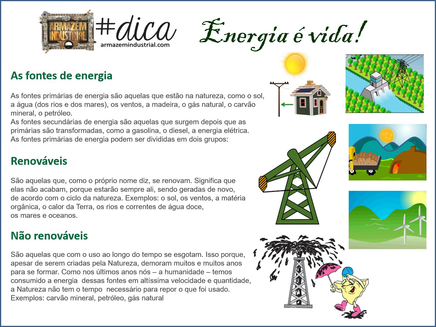 ENERGIA - ARMAZÉM INDUSTRIAL