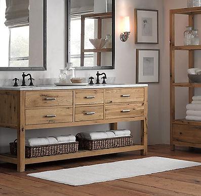 Bancadas Banheiro Estilo Industrial