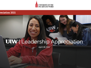 University of the Incarnate Word Leadership Appreciation Video
