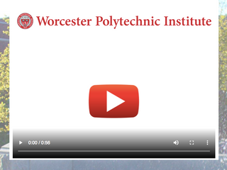 Worcester Polytechnic Institute Program Thank You Video