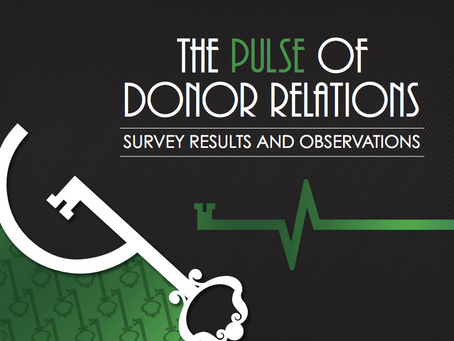 5 Top Takeaways from the Pulse of Donor Relations Survey
