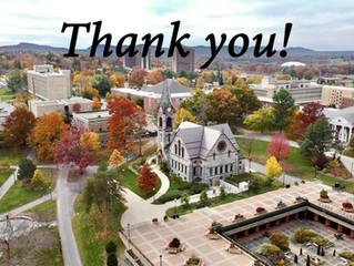 UMASS Amherst 2020 Gratitude Video