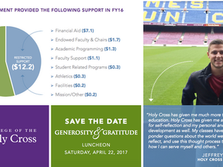 College of the Holy Cross Infographic