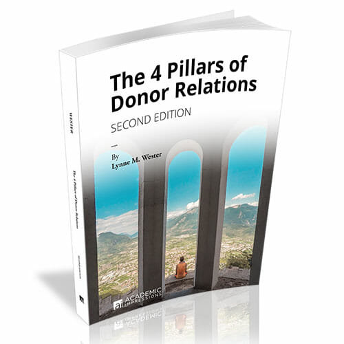 The Four Pillars of Donor Relations Book