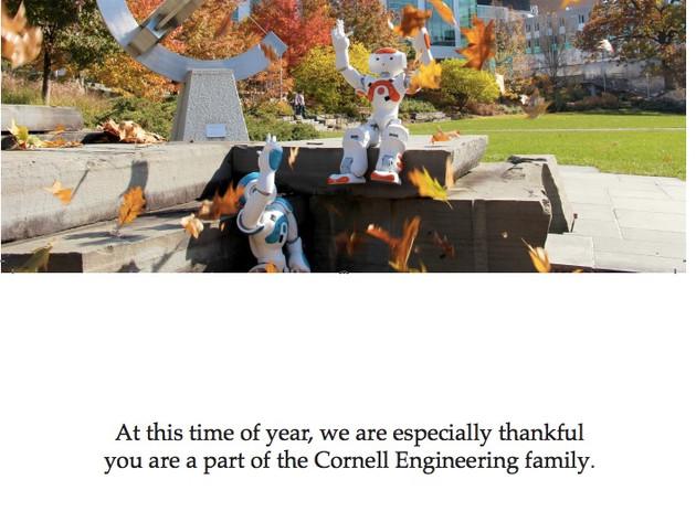 Cornell Thanksgiving Card
