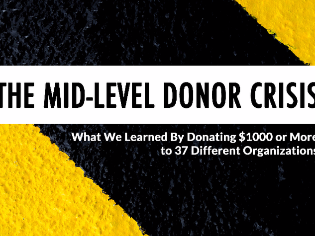 The Mid-Level Donor Crisis