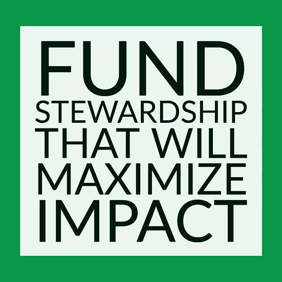 Fund Stewardship That Will Maximize Impact