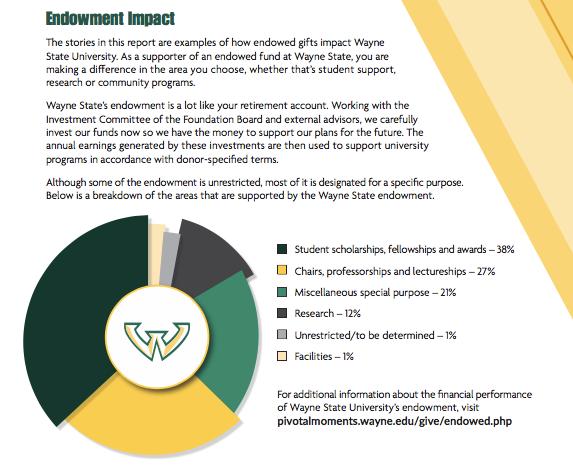 Wayne State Impact Report