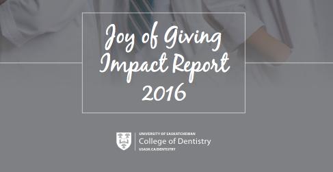University of Saskatchewan Impact Report