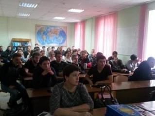 Сотрудники ПФР провели открытые уроки для студентов