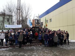 Митинг, посвященный 76 – й годовщине битвы под Москвой