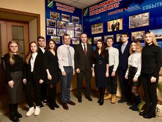 Глава Наро-Фоминского городского округа поздравил студентов с их праздником!