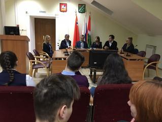Встреча с депутатом МОД Рожновым О.А.