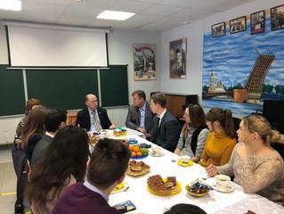 Встреча с депутатом МОД Барановым А.Н.
