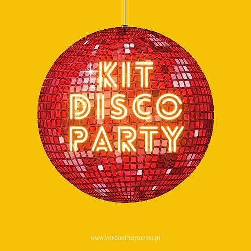 KIT DISCO PARTY