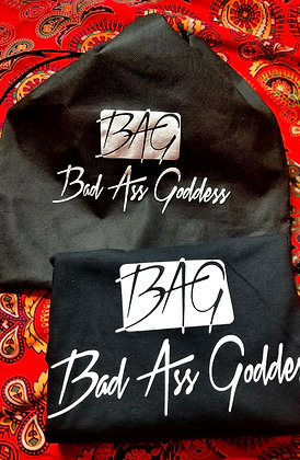 Bad Ass Goddess T-Shirt w/BAG