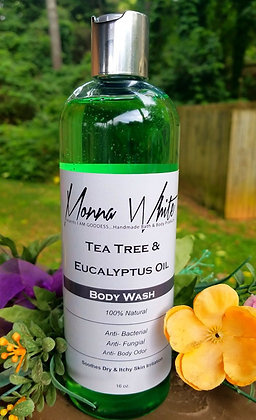 16 oz. Tea Tree Eucalyptus Body Wash