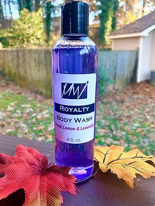 8 oz. Lavender & Lemon Royalty Body Wash
