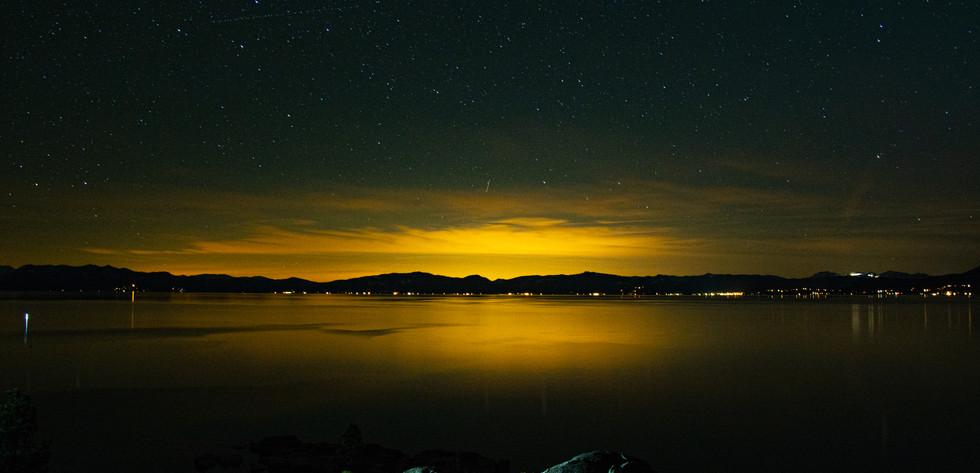 Sand Harbor at Night