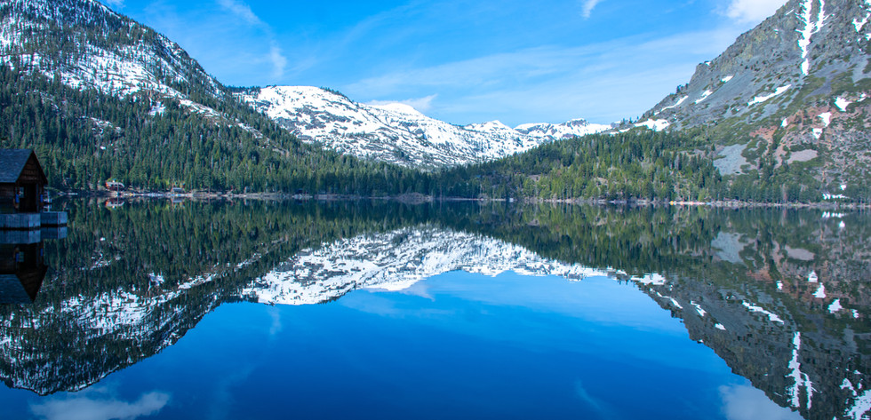 Reflections at Fallen Leaf Lake 2