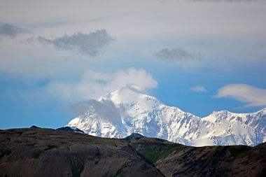 View of Denali from the train