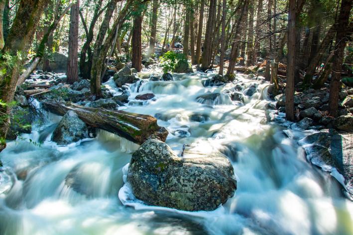Bridal Veil Falls downstream