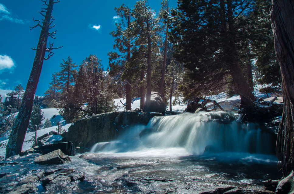 Lower Eagle Falls in Spring