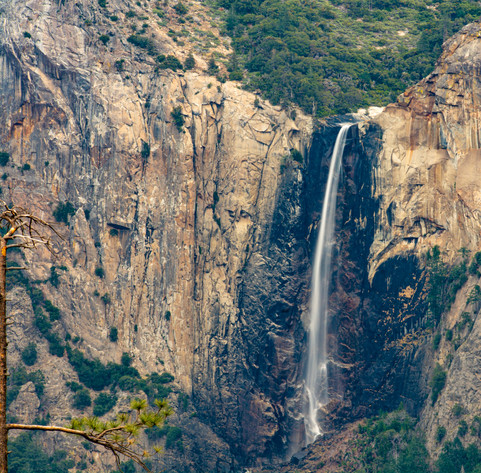Bridal Veil Falls from above