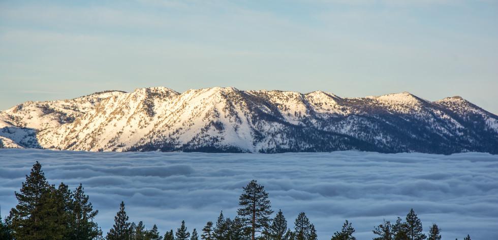 Inversion of Lake Tahoe
