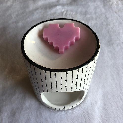 Coeur Minecraft 1 Cerise