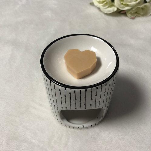 Cœur Minecraft 3 Chocolat au lait