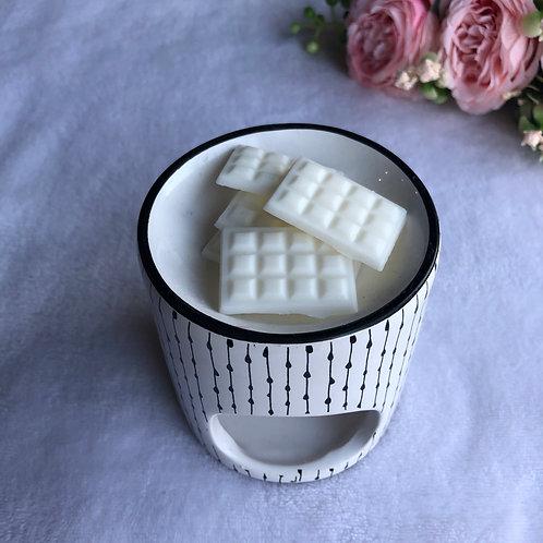 Mini tablette Nougat blanc