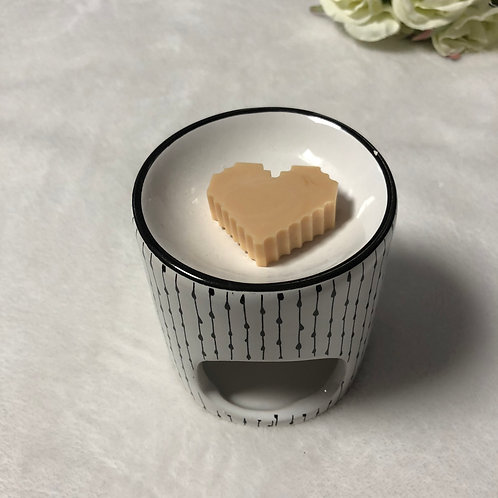 Coeur Minecraft 2 Chocolat au lait