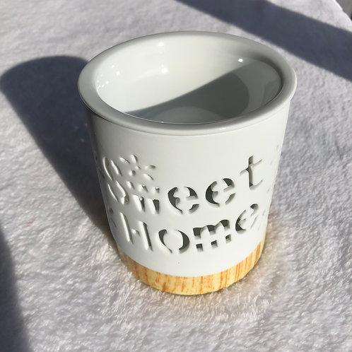 Bruleur blanc porcelaine Sweet Home