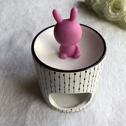Petit lapin Pamplemousse rose