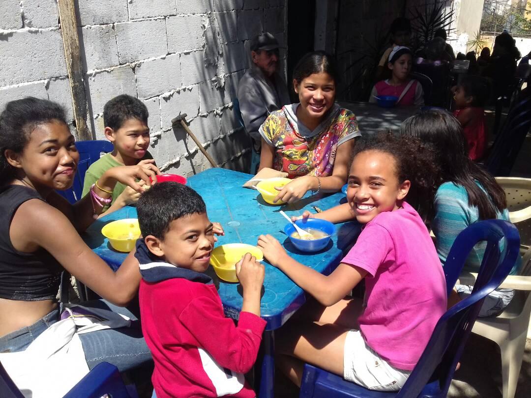 helping children of Venezuela