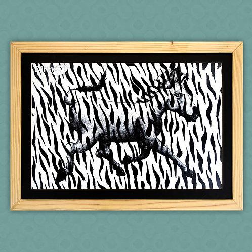 Animal Print-Zebra