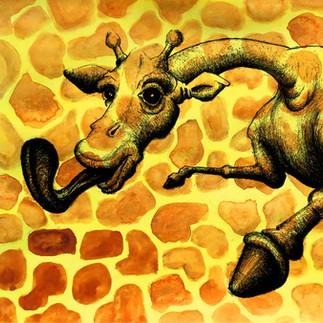 Animal Print Giraffe