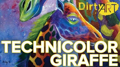 Technicolor Giraffe