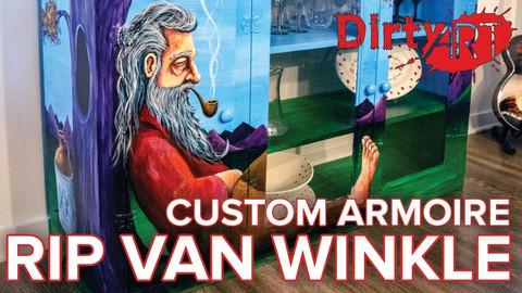 Rip Van Winkle Custom Armoire