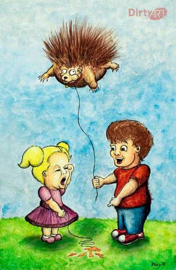 Porcupine Balloon