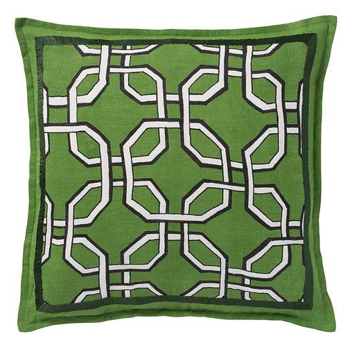 Kussen Harper Mos groen 50x50cm