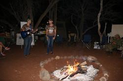 DZL perform for the Bush Babes