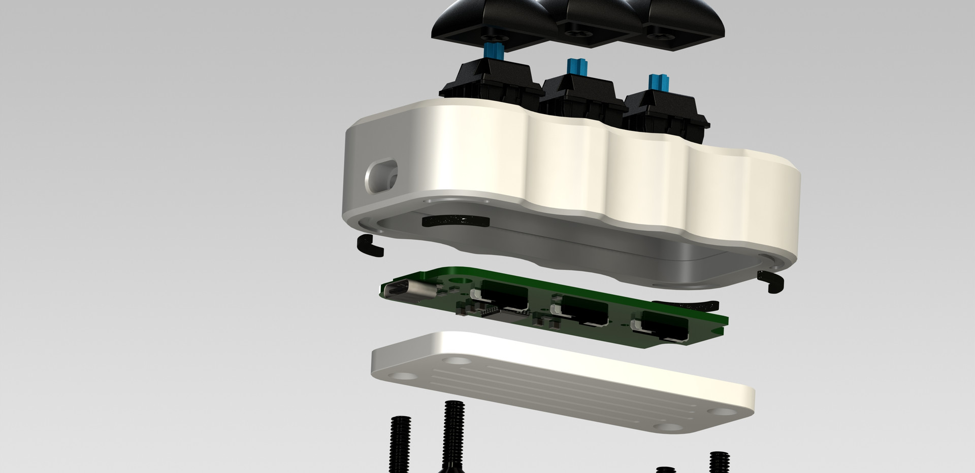 binepad BN003 exploded view