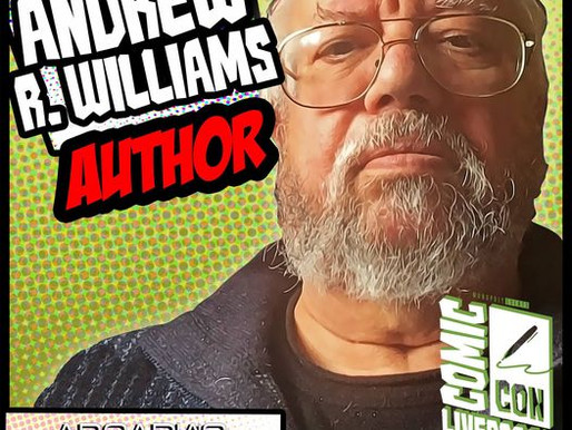 Meet Author Andrew R. Williams - - - The Now Legacy