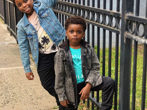 Young Actors/Models Jahleel and Egypt - The Kamara Kidz! Set to Shine Across Screens Everywhere