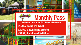 Cheeky Monkeys Monthly Passes