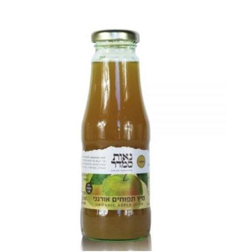 """מיץ תפוחים אורגני - 330 מ""""ל"""