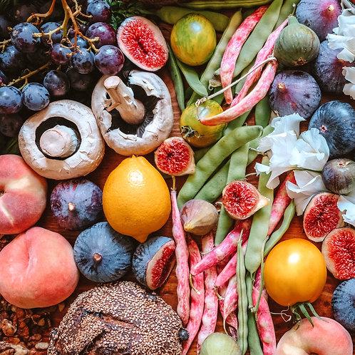 סל משולב - ירקות ופירות אורגניים