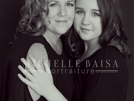 Mother & Daughter Beauty Photography